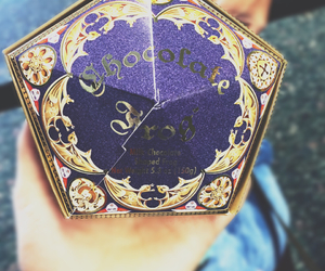 chocolate, food, and harry potter image