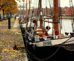 beautiful, boat, and brown image