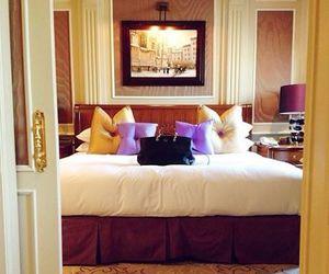 bedroom, luxury, and hotel image