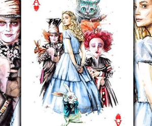 alice and drawing image