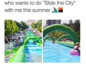 summer, city, and fun image