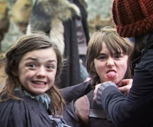 kids, quotes, and arya stark image