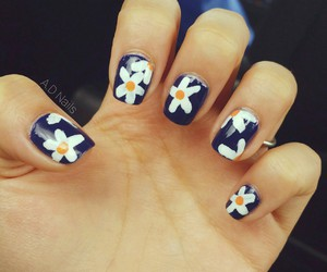 flowers, nailobsession, and happy image