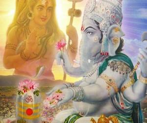 Ganesh and shiv image