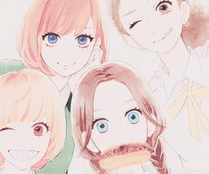 hirunaka no ryuusei, manga, and suzume image