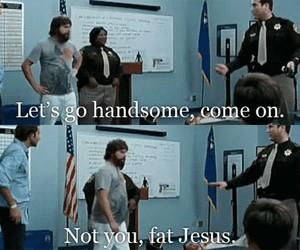 funny, hangover, and jesus image