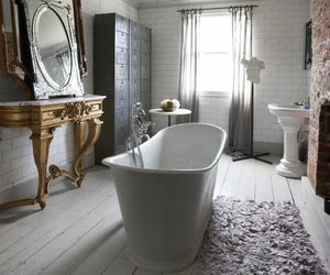 bath, bath tube, and home image