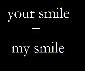 smile, text, and love image