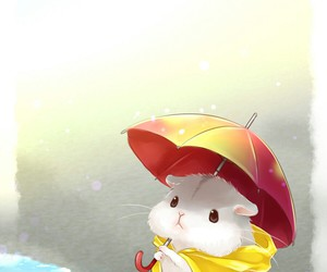 hamster, kawaii, and cute image