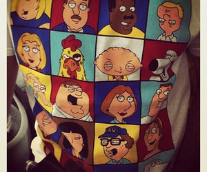 family guy and t-shirt image
