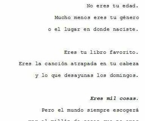 black and white, espanol, and frases image