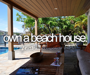 beach, house, and beach house image