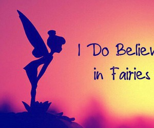 Fairies, peter pan, and tinkerbell image