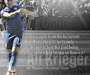 girl, quote, and soccer image