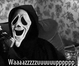 scary movie, funny, and scream image