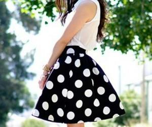 fashion, girl, and midi image