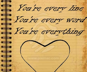 everything, quote, and love image