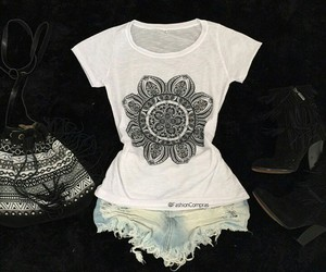 blusa, clothes, and fashion image