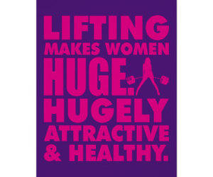 fitness, girl power, and healthy image