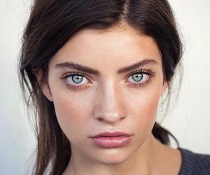 beauty, eyes, and model image