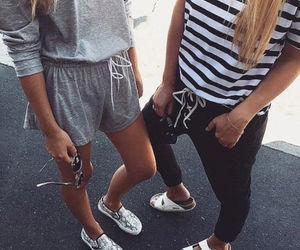 casual, pretty, and shoes image