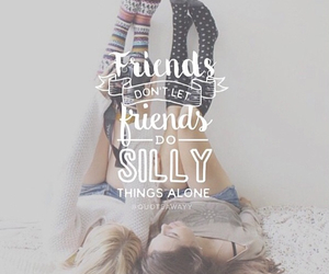 friends and silly image