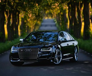 audi, car, and S8 image