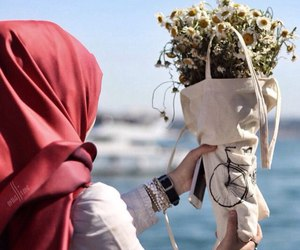 islam, flowers, and muslim image