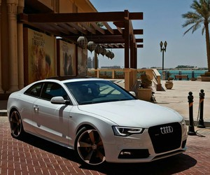 a5, audi, and car image