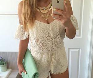 blond, braid, and fashion image