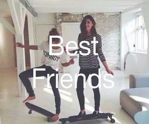 best friends, friendship, and friends image