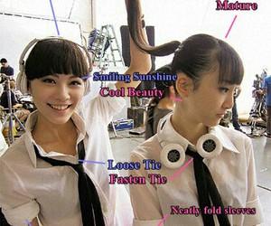girls, akb48, and ske48 image