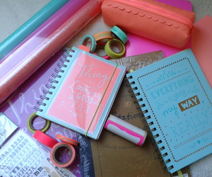 notebook, notebooks, and school image
