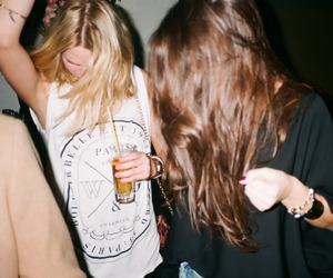 alternative, cool clothes, and drunk image