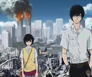 anime, zankyou no terror, and terror in resonance image