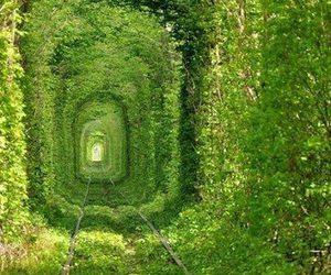 le tunnel de l'amour and (ukraine) image