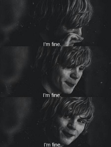 Tate Langdon Shared By 悲しいです On We Heart It