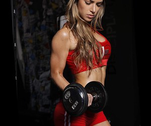 abs, fit, and strong image