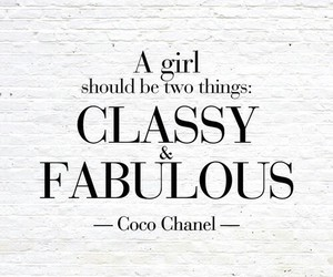 chanel, true, and classy image