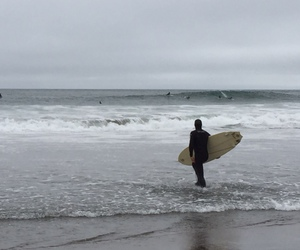 beach, san francisco, and surf image