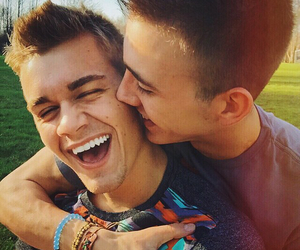 love, couple, and gay image