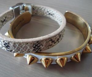bracelets and snakeskin image
