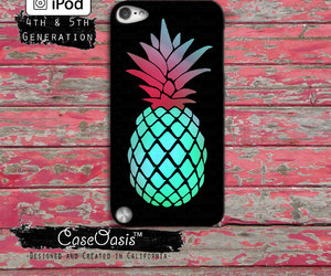 black, case, and pineapple image