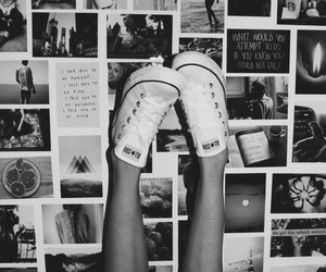 converse, photo, and white image