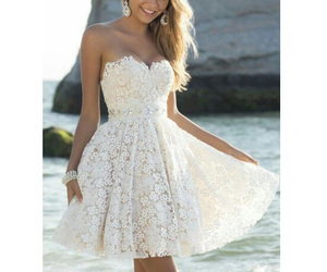 dress, beautiful, and girl image