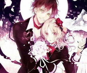 diabolik lovers, anime, and vampire image