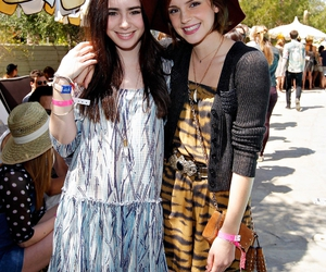 emma watson and lily collins image