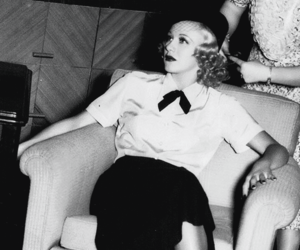 b&w, retro, and ginger rogers image