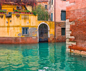 venice, house, and water image