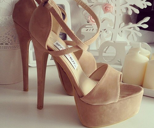 girly, heels, and hipster image